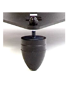 Towersonic ARC-HD Acoustic Rubber Cones heavy duty feet